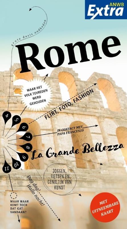 ANWB Extra reisgids Rome 9789018041052  ANWB ANWB Extra reisgidsjes  Reisgidsen Rome, Abruzzen