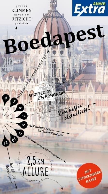 ANWB Extra reisgids Boedapest 9789018041403  ANWB ANWB Extra reisgidsjes  Reisgidsen Hongarije