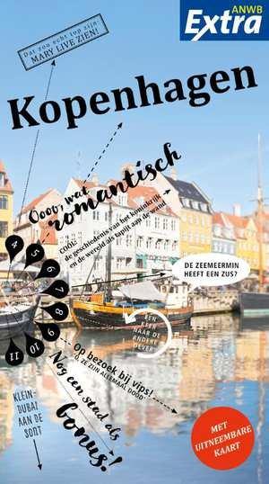 ANWB Extra reisgids Kopenhagen 9789018041427  ANWB ANWB Extra reisgidsjes  Reisgidsen Denemarken