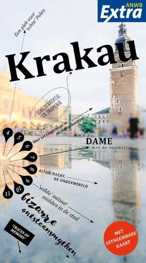ANWB Extra reisgids Krakau 9789018041434  ANWB ANWB Extra reisgidsjes  Reisgidsen Polen