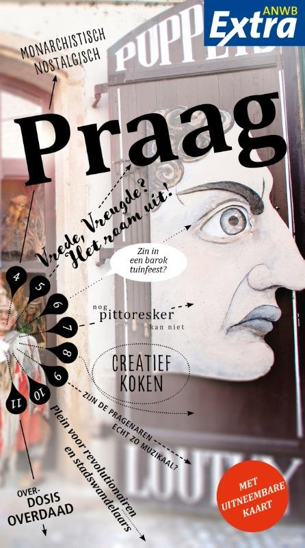 ANWB Extra reisgids Praag 9789018041472  ANWB ANWB Extra reisgidsjes  Reisgidsen Tsjechië