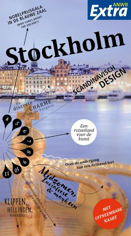 ANWB Extra reisgids Stockholm 9789018041489  ANWB ANWB Extra reisgidsjes  Reisgidsen Zuid-Zweden