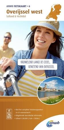 AF-06  Overijssel West - ANWB fietskaart 1:50.000 9789018041779  ANWB ANWB fietskaarten 50.000  Fietskaarten Kop van Overijssel, Vecht & Salland