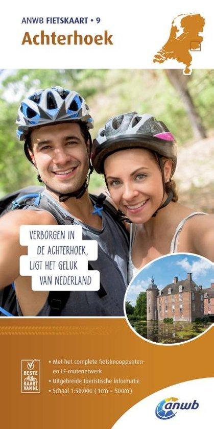 AFO-09  Achterhoek - ANWB fietskaart 1:50.000 9789018041809  ANWB ANWB fietskaarten 50.000  Fietskaarten Gelderse IJssel en Achterhoek