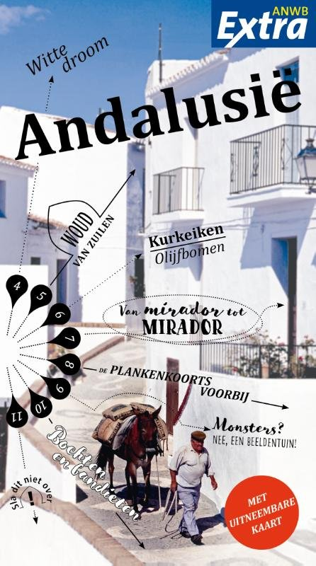 ANWB Extra reisgids Andalusië 9789018043131  ANWB ANWB Extra reisgidsjes  Reisgidsen Andalusië