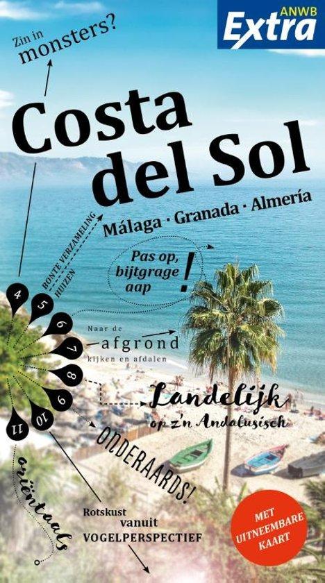 ANWB Extra reisgids Costa del Sol 9789018043155  ANWB ANWB Extra reisgidsjes  Reisgidsen Andalusië