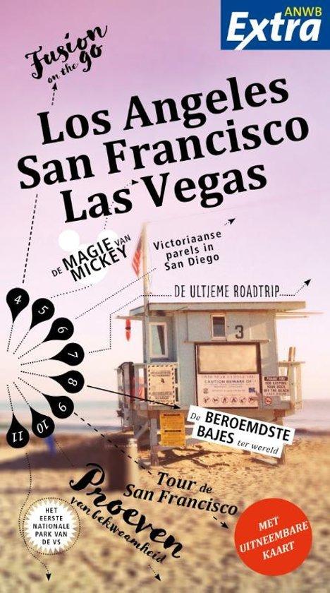 ANWB Extra reisgids Los Angeles, San Francisco, Las Vegas 9789018043209  ANWB ANWB Extra reisgidsjes  Reisgidsen California, Nevada