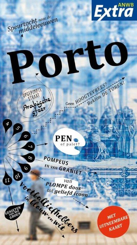 ANWB Extra reisgids Porto 9789018043278  ANWB ANWB Extra reisgidsjes  Reisgidsen Noord en Midden-Portugal, Lissabon