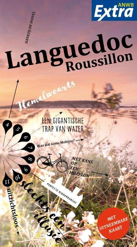 ANWB Extra reisgids Languedoc-Roussillon 9789018043407  ANWB ANWB Extra reisgidsjes  Reisgidsen Languedoc, Hérault, Aude
