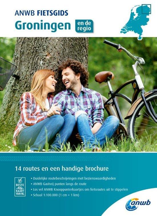 ANWB Fietsgids 01 - Groningen 9789018043490  ANWB ANWB fietsgidsen  Fietsgidsen Groningen