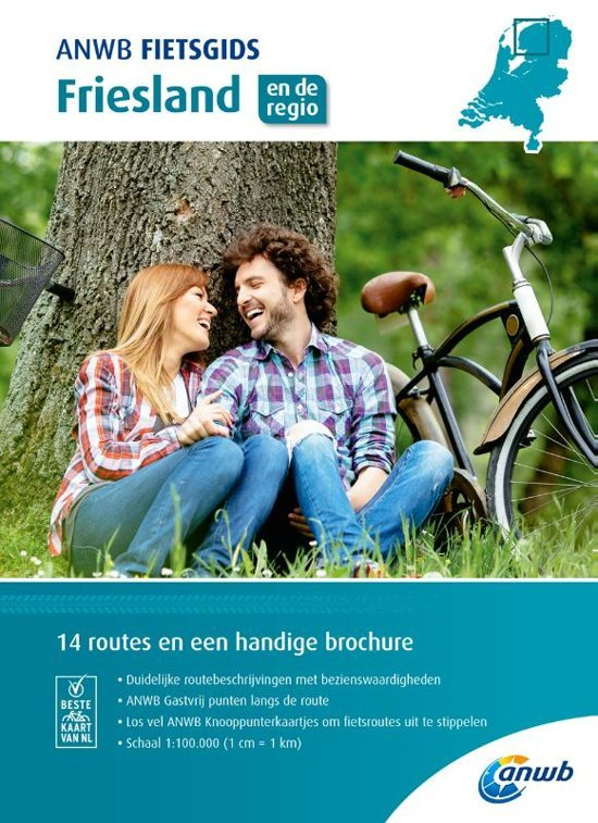ANWB Fietsgids 02 - Friesland 9789018043506  ANWB ANWB fietsgidsen  Fietsgidsen Friesland