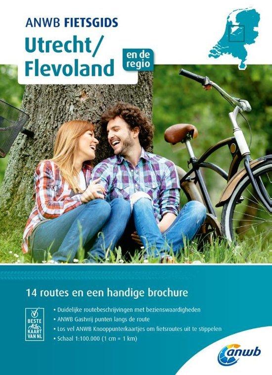 ANWB Fietsgids 06 - Utrecht & Flevoland 9789018043544  ANWB ANWB fietsgidsen  Fietsgidsen Flevoland en het IJsselmeer, Utrecht