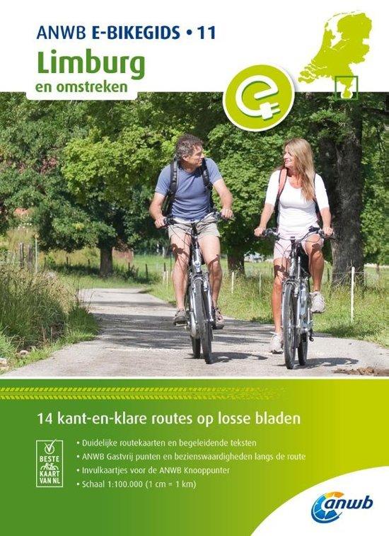 E-bikeroutes in en om Limburg 9789018043704  ANWB   Fietsgidsen