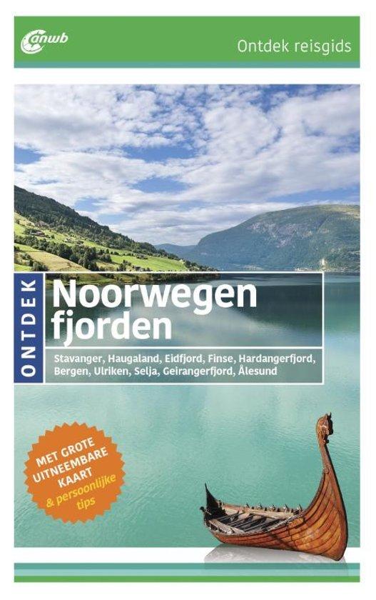 ANWB reisgids Ontdek Noorwegen fjorden 9789018043964  ANWB ANWB Ontdek gidsen  Reisgidsen Noorwegen