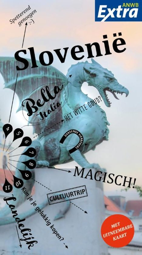 ANWB Extra reisgids Slovenië 9789018044091  ANWB ANWB Extra reisgidsjes  Reisgidsen Slovenië