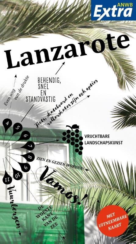 ANWB Extra reisgids Lanzarote 9789018044428  ANWB ANWB Extra reisgidsjes  Reisgidsen Lanzarote