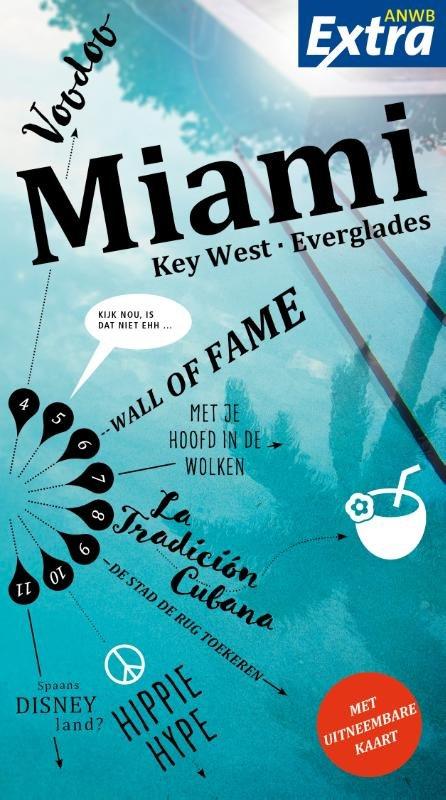 ANWB Extra reisgids Miami 9789018044442  ANWB ANWB Extra reisgidsjes  Reisgidsen Florida