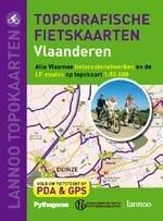 Topografische fietskaarten Vlaanderen 9789020973648  Lannoo DVD  Fietskaarten Vlaanderen & Brussel