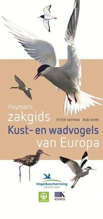 Zakgids Kust- en wadvogels van Europa 9789021565002  Kosmos Zakgidsen natuur  Natuurgidsen, Vogelboeken Europa