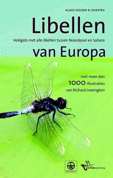 Veldgids Libellen van Europa 9789021572208 Klaas Douwe Dijkstra Kosmos Tirion Natuur  Natuurgidsen Europa