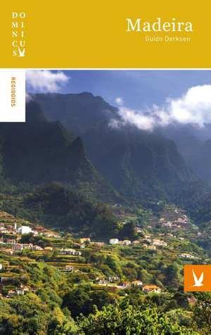 Dominicus reisgids Madeira 9789025763732  Gottmer Dominicus reisgidsen  Reisgidsen Madeira