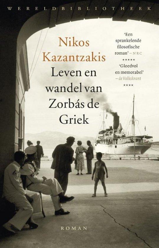 Leven en wandel van Zorbas de Griek 9789028427303 Nikos Kazantzakis Wereldbibliotheek   Reisverhalen Kreta