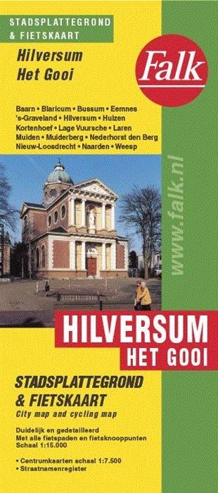 Stadsplattegrond Hilversum/het Gooi 9789028707788  Falk Pl.g. binnenland  Stadsplattegronden Noord-Holland