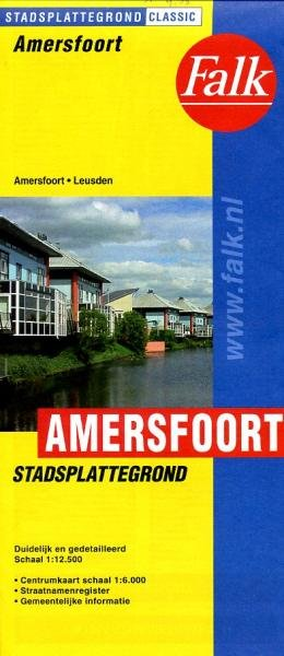 Stadsplattegrond Amersfoort 9789028707856  Falk Pl.g. binnenland  Stadsplattegronden Utrecht
