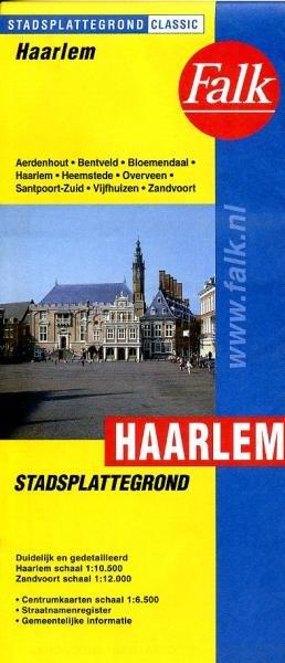 Stadsplattegrond Haarlem 9789028707870  Falk Pl.g. binnenland  Stadsplattegronden Noord-Holland