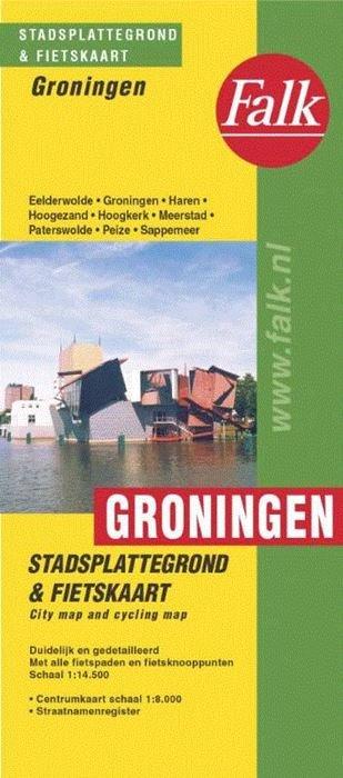 Stadsplattegrond Groningen 9789028707931  Falk Pl.g. binnenland  Stadsplattegronden Groningen