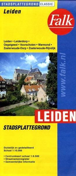 Stadsplattegrond Leiden 9789028708518  Falk Pl.g. binnenland  Stadsplattegronden Den Haag, Rotterdam en Zuid-Holland