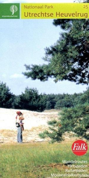 SBB-25  Utrechtse Heuvelrug 9789028710726  Staatsbosbeheer SBB kaart 1:25.000  Wandelkaarten Utrecht