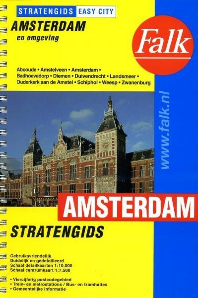 Amsterdam  Easy City 9789028712836  Falk Easy-City  Stadsplattegronden Amsterdam