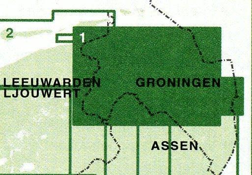 FFK-01  Groningen 1:50.000 9789028725027  Falk Fietskaarten met Knooppunten  Fietskaarten Groningen