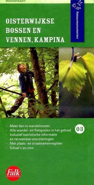 NM-03 Oisterwijkse Bossen en Vennen 9789028725317  Natuurmonumenten Wandelkaarten 1:20d.  Wandelkaarten Noord-Brabant