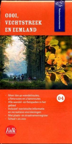 NM-04 Gooi- en Vechtstreek 9789028725324  Natuurmonumenten Wandelkaarten 1:20d.  Wandelkaarten Noord-Holland, Utrecht