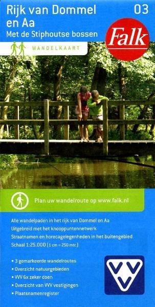 Rijk van de Dommel en Aa 1:25.000 9789028726963  Falk Falk Wandelkaarten  Wandelkaarten Noord-Brabant