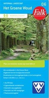 Het Groene Woud (Groenewoud) 1:25.000 9789028727656  Falk Falk Wandelkaarten  Wandelkaarten Noord-Brabant