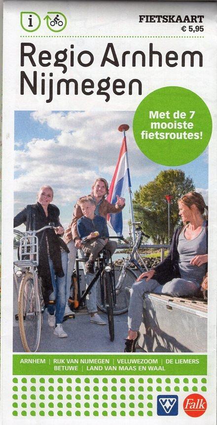 VVV Fietskaart Knooppuntenkaart Regio Arnhem Nijmegen 1:60.000 9789028729810  RBT KAN   Fietskaarten Arnhem en de Veluwe, Nijmegen en het Rivierengebied