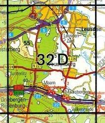 32D Woudenberg 1:25.000 9789035003231  Topografische Dienst / Kadaster Topografische Kaart  Wandelkaarten Utrecht