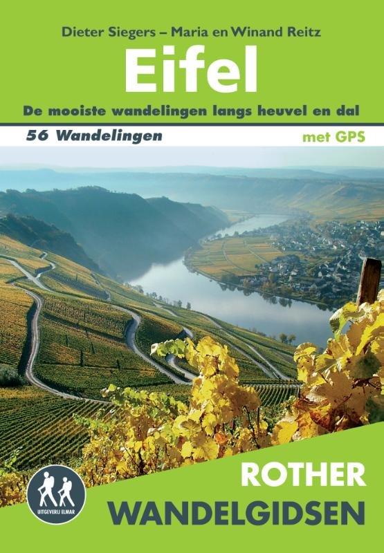 Eifel - Rother wandelgids 9789038921136  Elmar RWG  Wandelgidsen Eifel, Moezel, Rheinland-Pfalz