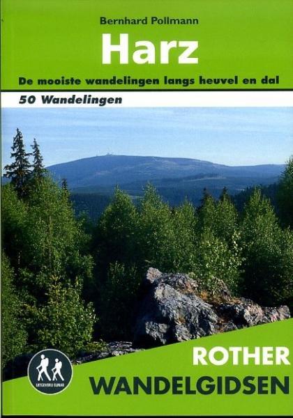 Harz - Rother wandelgids 9789038922348  Elmar RWG  Wandelgidsen Harz