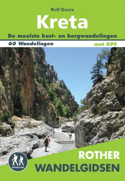 Kreta - Rother wandelgids 9789038923574  Elmar RWG  Wandelgidsen Kreta
