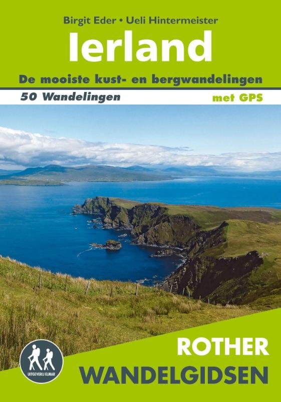 Ierland Rother Wandelgids 9789038925288  Elmar RWG  Wandelgidsen Ierland