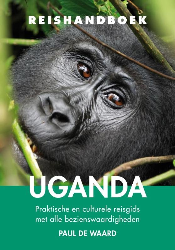 Elmar Reishandboek Uganda 9789038925349 Paul de Waard Elmar Elmar Reishandboeken  Reisgidsen Uganda, Rwanda, Burundi, Ruwenzorigebergte