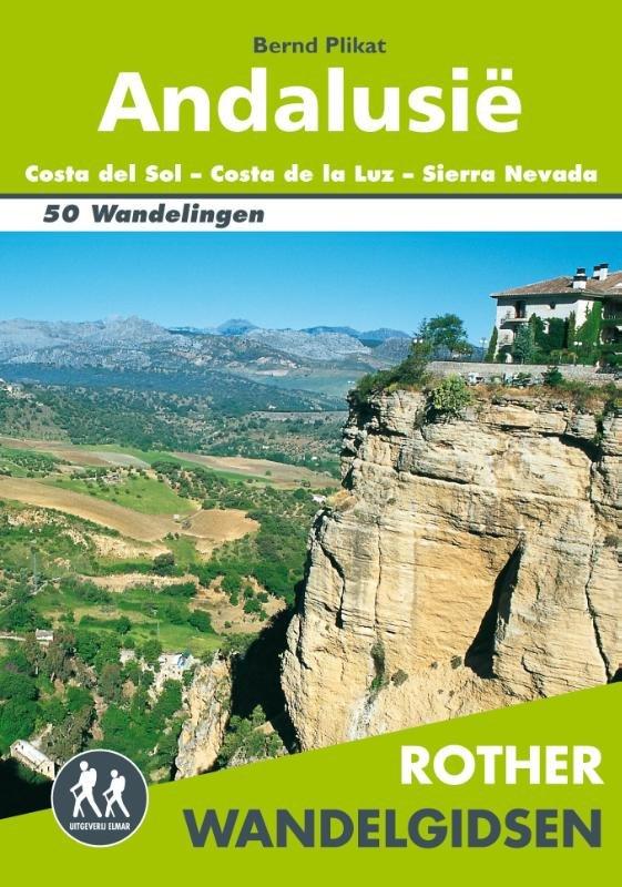 Andalusië - Rother wandelgids 9789038925585  Elmar RWG  Wandelgidsen Andalusië
