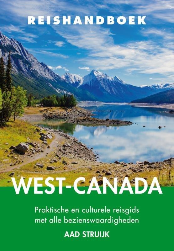 Elmar Reishandboek West-Canada 9789038925653 Aad Struijk Elmar Elmar Reishandboeken  Reisgidsen West-Canada, Rockies