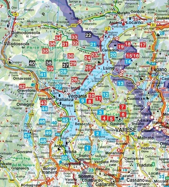 Lago Maggiore - Rother Wandelgids 9789038926582  Elmar RWG  Wandelgidsen Milaan, Lombardije, Italiaanse Meren, Turijn, Piemonte