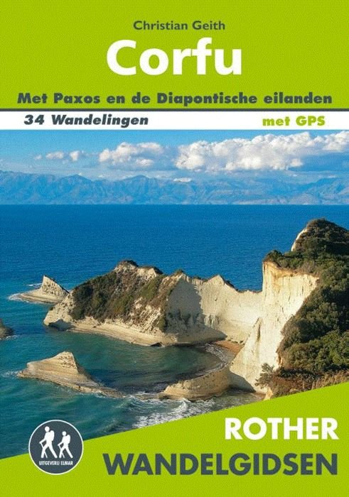 Corfu - Rother wandelgids 9789038926827   RWG  Wandelgidsen Ionische Eilanden (Korfoe, Lefkas, etc.)