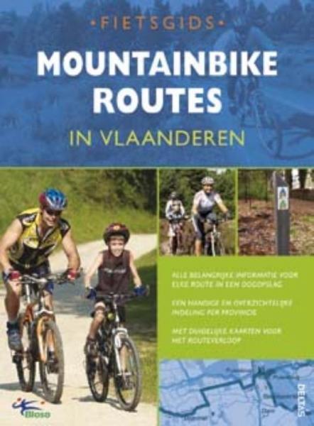 Mountainbikeroutes in Vlaanderen 9789044719963  Deltas   Fietsgidsen Vlaanderen & Brussel